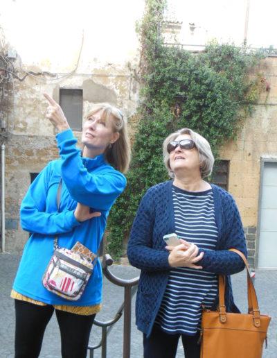 Elizabeth and Terrie, Orvieto